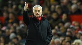 Mourinho quiere más competencia en ataque. AFP