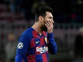 Messi se moja: sus favoritos en Champions, fichar o no al Kun y la sanción al City. AFP