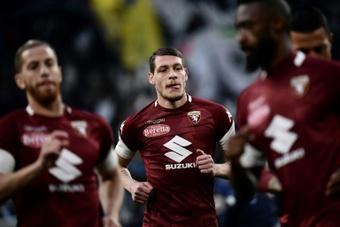 El Inter, cerca de fichar a Belotti. AFP