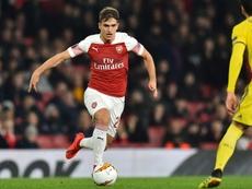 Denis Suarez did not make a long lasting impression on Arsenal. AFP