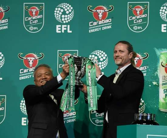 The Carabao cup returns this week with some great third-round clashes. AFP