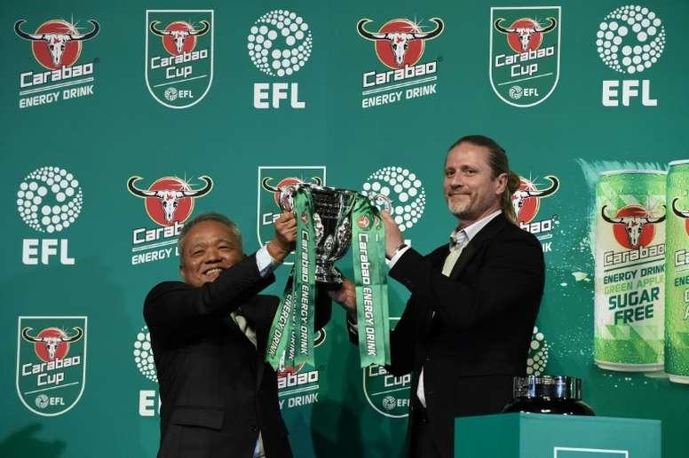 Ya se conocen las semifinales de la Carabao Cup. AFP