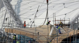 UN calls for greater heat protection for workers in Qatar. AFP