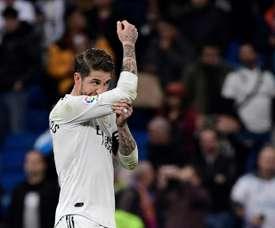 Ramos sera absent face à Leganés. AFP