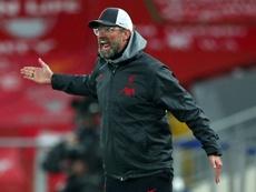 Klopp criticised the Premier League. AFP