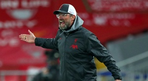 Klopp criticised the Premier League. AFP