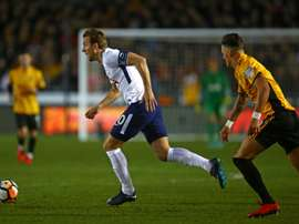 Tottenham take on Newport in the FA Cup fourth-round replay. AFP