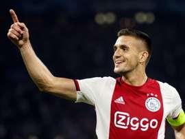 Le Barça négocie déjà pour Tadic, l'alternative à Rodrigo. AFP
