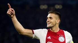 Tadic, crítico pese al triunfo. AFP