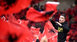 The Albanian league will return. AFP