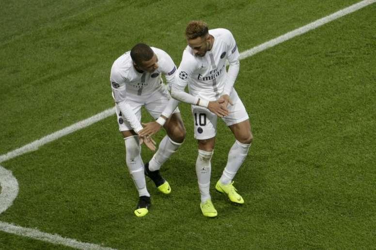 Neymar Paris Saint-Germain. AFP