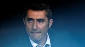 Valverde ve al United bastante bien. AFP