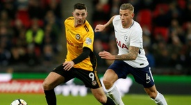 Alderweireld was not impressed by his lack of minutes. AFP