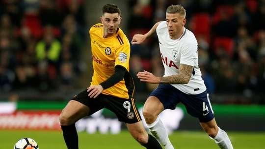 Alderweireld podría abandonar el Tottenham esta temporada. AFP