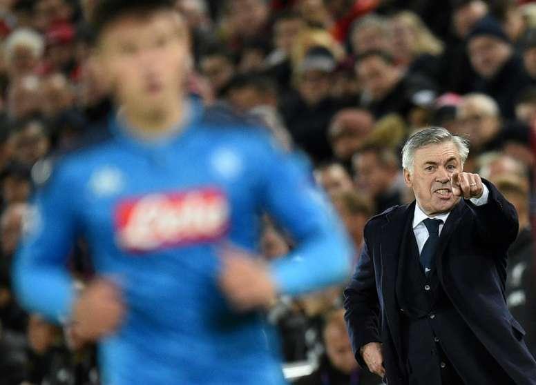 Carlo Ancelotti ne fuit pas ses responsabilités. AFP