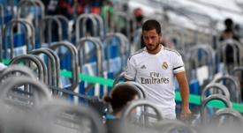 Hazard toujours incertain avant Manchester City. AFP