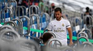 Eden Hazard participou de apenas 19 jogos pelo Real Madrid. AFP
