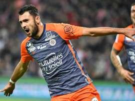 El Montpellier busca afianzarse en los puestos europeos. AFP