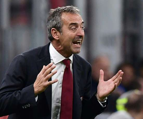 Marco Giampaolo has become the new coach of Torino. AFP