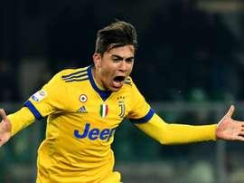 A Juve venceu por 1-3 em Verona. AFP