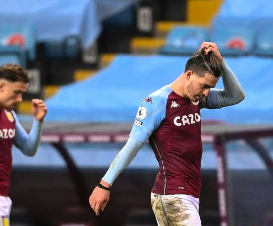 Grealish has been charged with his fourth driving offence. AFP