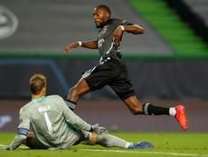 Toko Ekambi says Bayern aren't unbeatable. AFP