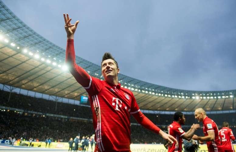 The Bayern Munich player is a living legend. AFP