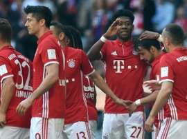 Bernat nets as Bayern relegate Darmstadt