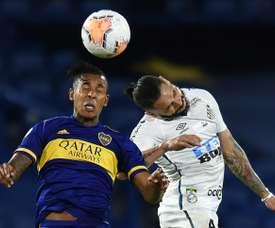 Boca, Santos play out tense Libertadores stalemate