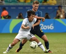 Nakajima proche de signer au FC Porto. AFP