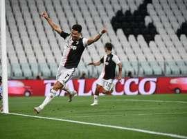 Lingard elogia Ronaldo. AFP