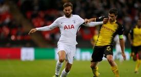 El Tottenham dejaría salir a Llorente. AFP