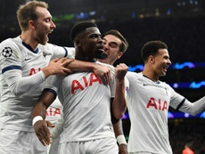 Tottenham have not managed to convince in the UCL yet. AFP