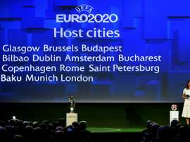 The draw will take place in Dublin on Sunday. AFP