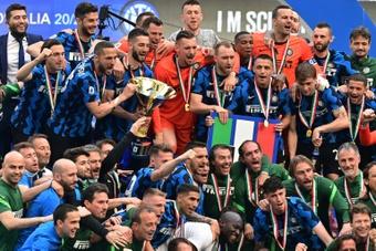 Compos probables :  Inter Milan-Genoa. AFP