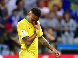 Neymar buscará volver a anotar ante Arabia Saudí. AFP