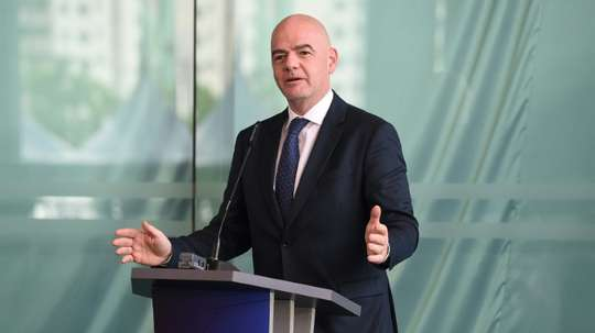 FIFA president Gianni Infantino hopes to expand the World Cup to 48 teams. AFP