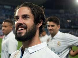 Isco preferiu jogadores do Real Madrid no seu 'dream team'. AFP