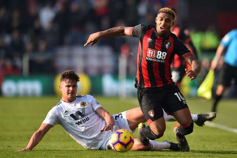 Jordon Ibe estaba llamado a cubrir la baja de Sterling en el Liverpool. AFP/Archivo