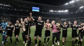 O Ajax alcança números fantásticos em todas as competições. AFP