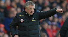 Sheffield Utd boss braced for Premier League restart in global spotlight. AFP