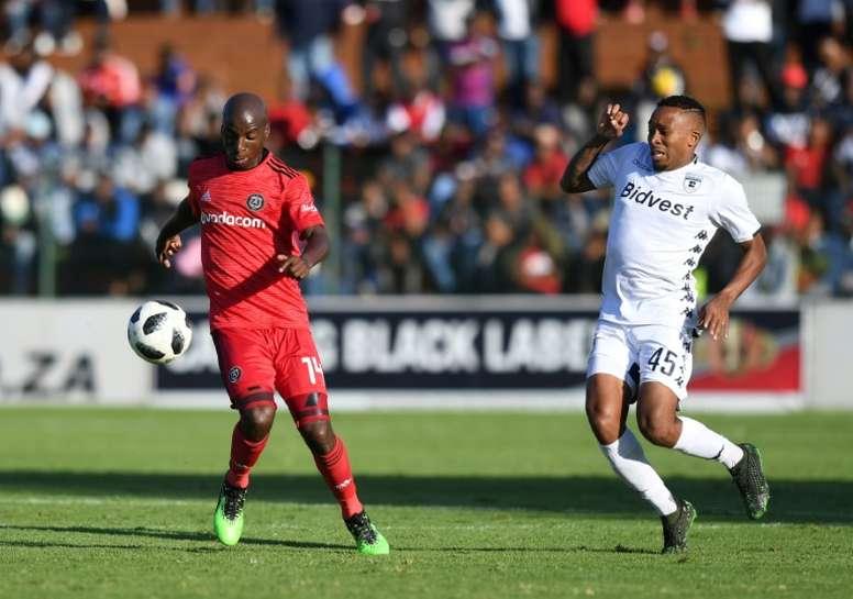 Kaizer Chiefs won 1-0. AFP