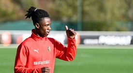 Eduardo Camavinga - The rapid rise of France's next superstar. AFP