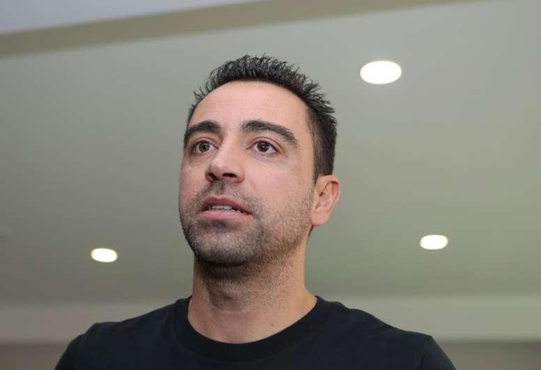 Xavi ya dio su opinión sobre Setién. AFP
