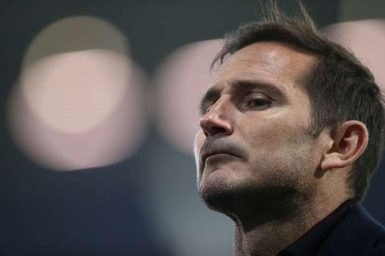 Lampard lamentó el empate contra el Southampton. AFP
