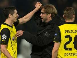 Lewandowski credits ex-Borussia Dortmund coach Jurgen Klopp.