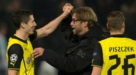Lewandowski credits ex-Borussia Dortmund coach Jurgen Klopp. AFP