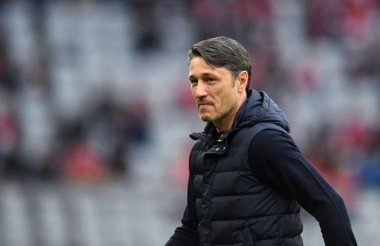 Niko Kovac achacó el mal partido del Bayern de Múnich al calor. AFP