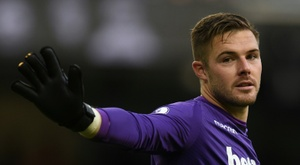 Butland interests Crystal Palace. AFP