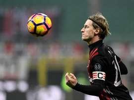 Ignazio Abate is pleased by the signing of Leonardo Bonucci. AFP